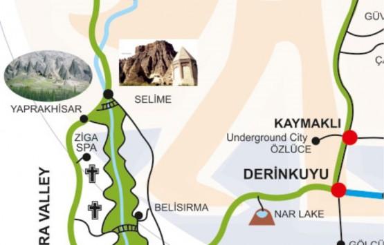 Тур по югу Каппадокии (зеленый маршрут)