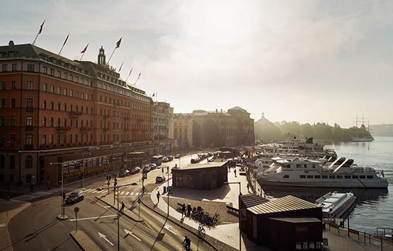 Отель Grand Hotel Stoсkholm 5*, Стокгольм