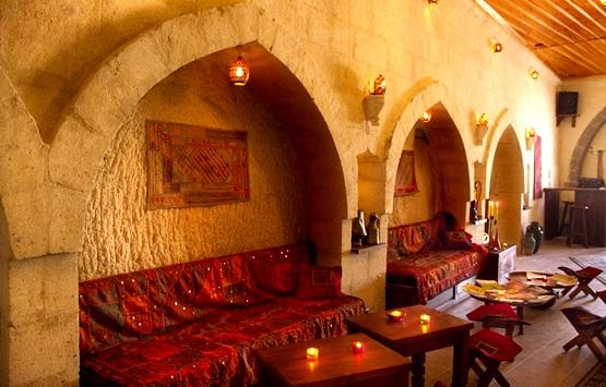 Lalesaray - отель в скале. Каппадокия