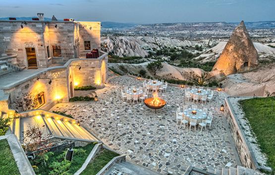 Необычный бутик-отелей Каппадокии - Museum Hotel 5*