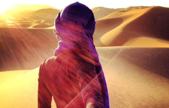 Восход солнца Мерзуга. Марокко